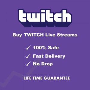 Buy Twitch live streams